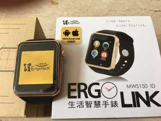 Ergolink MWS150ID Bluetooth Smart Watch by Ergotech