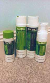 Brand New Tea Tree Witch Hazel Set