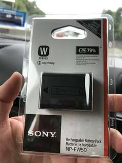 Sony FW50 Battery