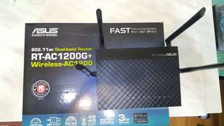 Asus wireless dual-brand router