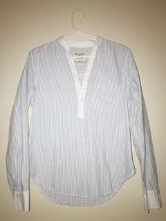 Abercrombie & Fitch Striped Blouse