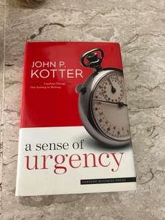 Book clearance - A sense of urgency