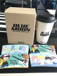 CNBLUE [BLUE MOON CONCERT] 官方週邊 鄭容和JUNG YONG HWA 設計環保杯(全新)