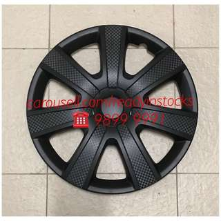 Toyota Hiace - Nissan NV200 - Nissan NV350 - Mitsubishi Van Universal Wheel Rim With Carbon Design Cover - Toyota -Nissan Accessories
