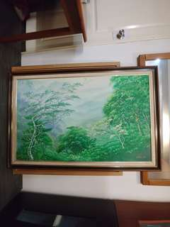 Original Genting Highlands Painting Over 25 years Old
