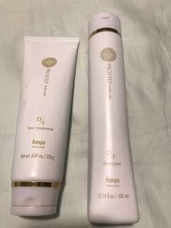 Hoyu pro step step care hair shampoo and conditioner