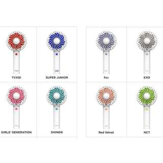 [Pre-Order] SM ARTIST HANDY ELECTRIC FAN
