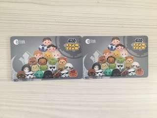 (On Hand) Star Wars Tsum Tsum Ezlink Card