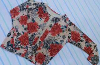 Floral Cover Top