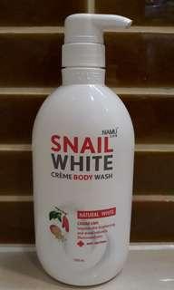 Snail White Bath Cream Natural White