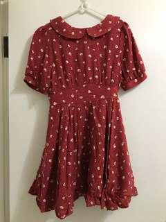 🚚 Cherrykoko 復古洋裝