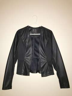 Dynamite Fitted Leather Jacket