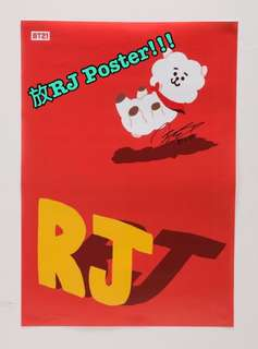 BT21 RJ poster