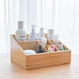 [PO] Wooden Minimalist Cosmetic Organizer