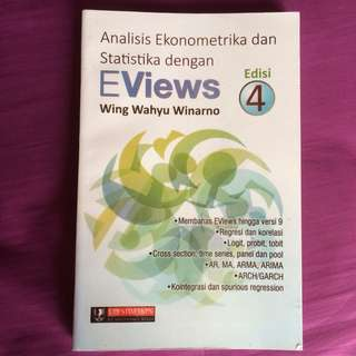 Buku EViews (Analisis Ekonometrika dan Statistika)