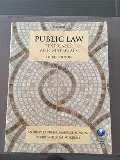 Public Law 3rd Edition