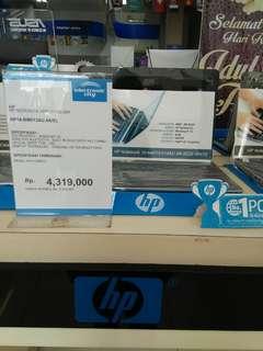 Kredit laptop HP free 1x cicilan di akhir