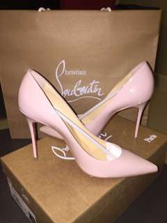 Christian Louboutin Light Pink/ Baby Pink Heels