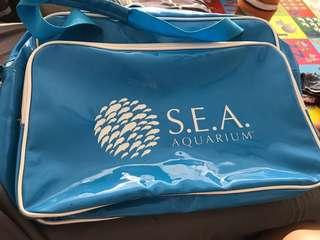 Sea aquarium shoulder bag