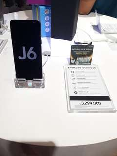 Kredit Samsung Galaxy J6, Proses mudah tanpa Kartu Kredit!!