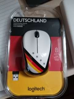 德國國旗 無線mouse