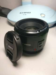 Canon EF 50MM 1.8 MARK 2