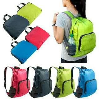 Fordable waterproof bag backpack bag