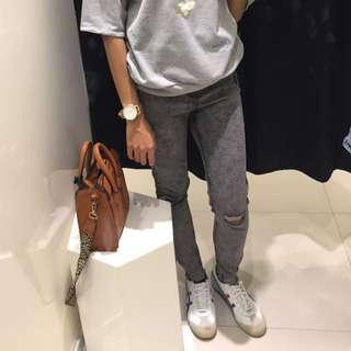 Bershka Ripped Jeans