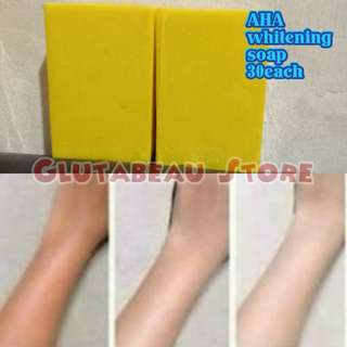 AHA WHITENING AND ANTI AGING SOAP