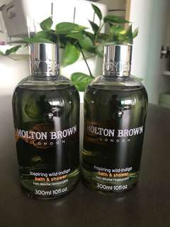 BN Molton Brown Wild Indigo Bath Shower Gel Body
