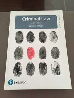 Criminal Law 6th Edition