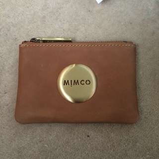 Brown Small Mimco Pouch