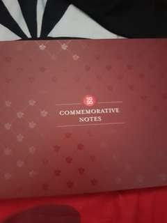 SG 50 commemorative notes