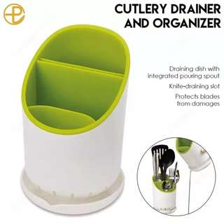 Cutlery Drainer and Organizer