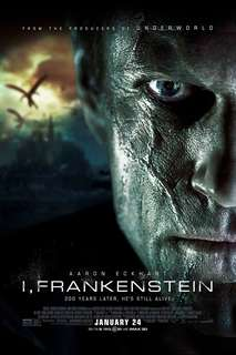 I, Frankenstein 2014 original movie poster