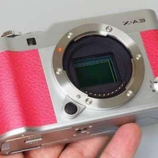 Camera Mirorles fujifilm xa 3 Bisa di cicil tanpa kartu credit free1x