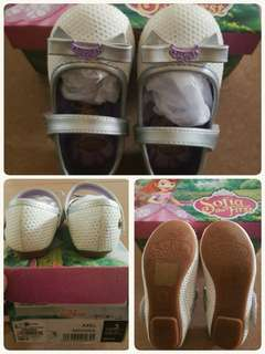 Sofia the first White Sandals