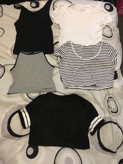 Bundle Of Basic Tops
