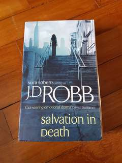 Book - JD Robb - Salvation In Death - J.D Robb