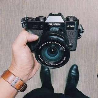 Camera Fujifilm Xt20 Bisa di cicil tanpa kartu credit free 1x angsuran