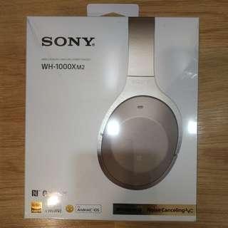 Sony [Sealed Box] Brand New WH-1000XM2 Wireless Bluetooth Headphone