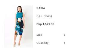 Daria bodycon dress