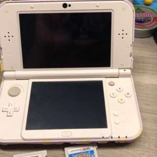 new 3DS XL white(used)