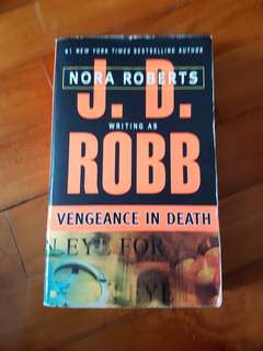Book - JD Robb - Vengeance In Death - J.D Robb