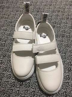 Brand New Dr Martens Optic White Mary Janes