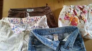 Bundle shorts for girls