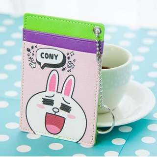 LINE Friends Ezlink Card Holder (Cony Rabbit)