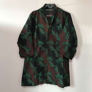 Batik Blouse Dress