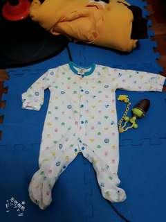 寶寶秋裝連身衣 包屁衣 兔裝
