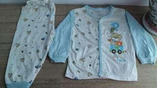 Cuddles Baby Pyjamas 12-18M